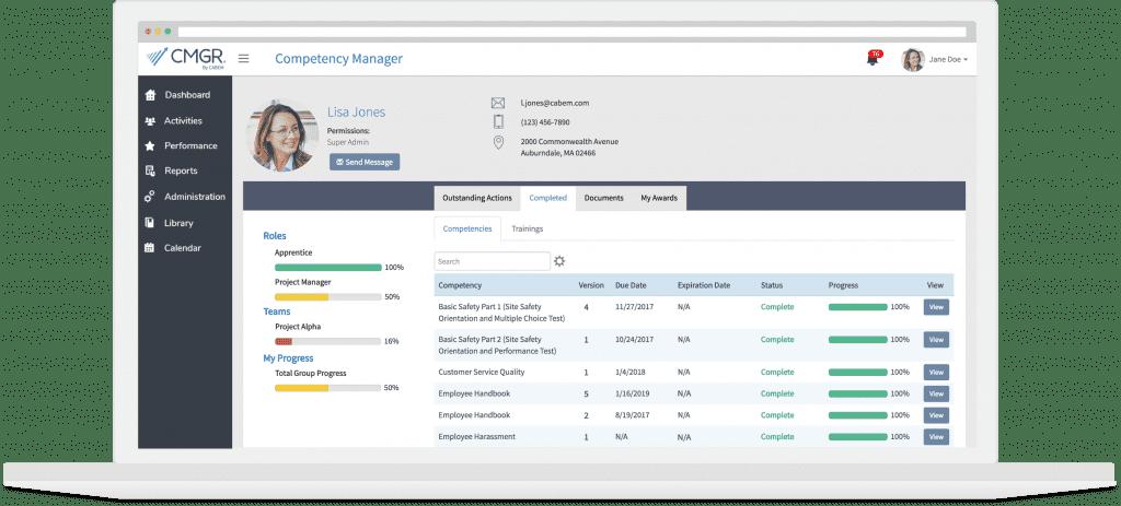 CABEM Competency Management Software