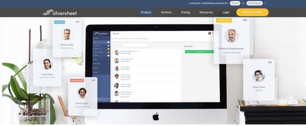 Silversheet Credentialing Management Software