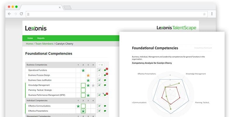 Lexonis Competency Software
