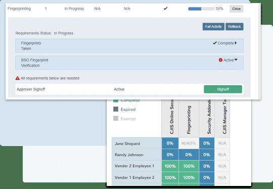 CJIS benefits screenshot