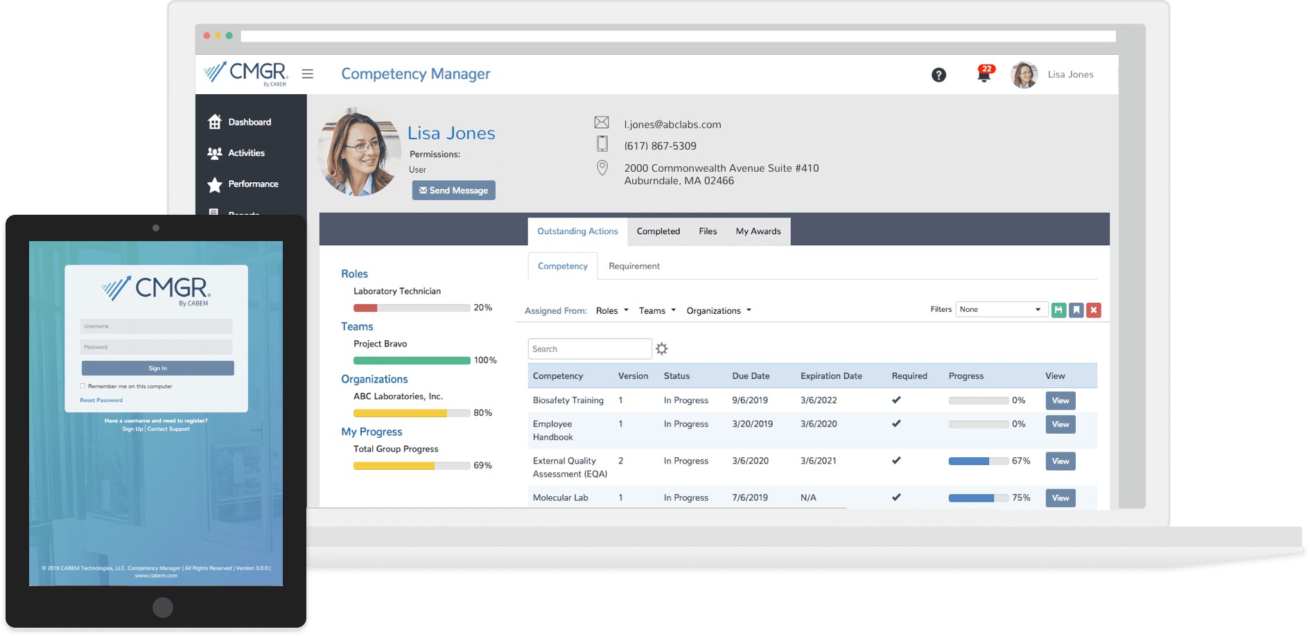 competency manager example